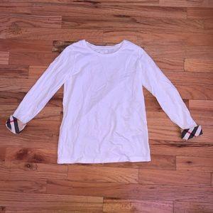 Girls Burberry shirt